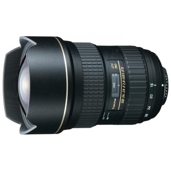 Объектив Tokina AT-X 16-28mm f/2.8 Pro FX Nikon Fширокоугольный Zoom-объектив, крепление Nikon F, встроенный мотор, 16 - 28 мм, F2.80, автоматическая фокусировка, минимальное расстояние фокусировки 0.28 м, размеры (DхL): 90x133.3 мм, вес: 950 г<br><br>Вес кг: 1.00000000