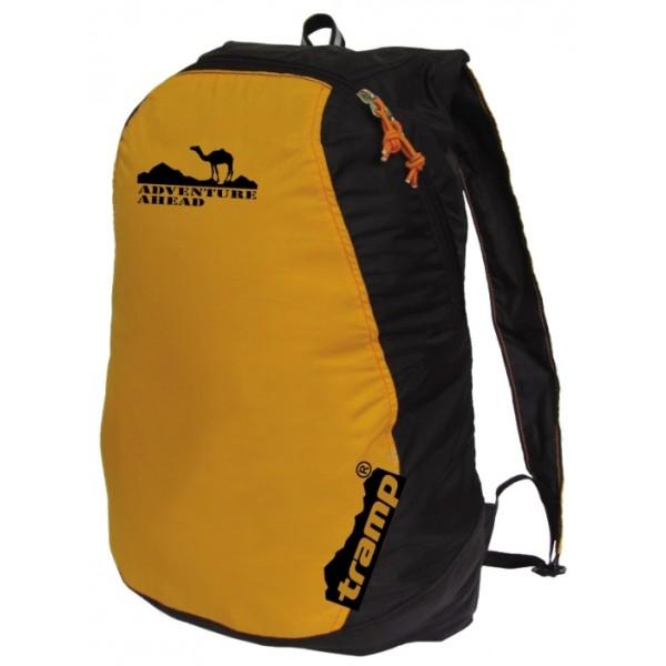 Рюкзак Tramp Ultra 15 yellow/blackунисекс городской, мягкий каркас, объем 13 л<br>
