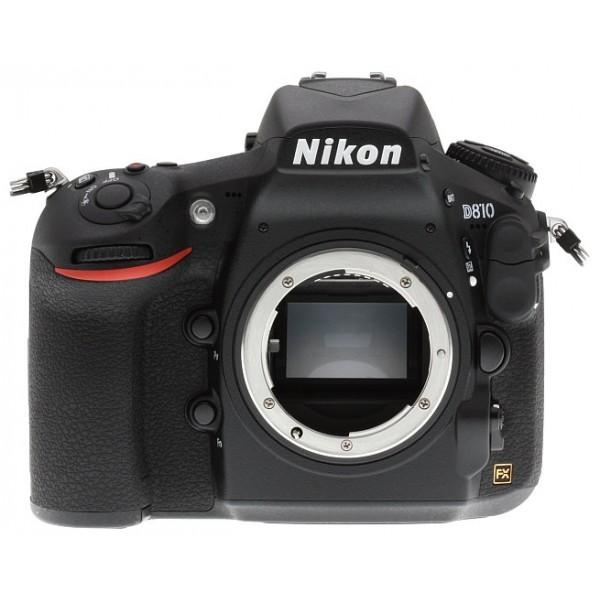 Фотоаппарат зеркальный Nikon D810 BodyМодернизированная матрица формата FX, сверхширокий диапазон значений ISO и система обработки изображений EXPEED 4 гарантируют беспрецедентную резкость, отличную передачу оттенков и более низкий уровень шума во всем диапазоне чувствительности.<br><br>Вес кг: 1.10000000