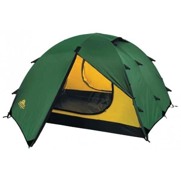 Палатка Alexika Rondo 4Туристическая палатка Alexika Rondo 4 - переходный вариант от трекинговой палатки к небольшой кемпинговой. Отлично подходит для семейных путешествий или большой компании. Просторная квадратная спальня позволит вам расположиться с максимальным комфортом, а вещи разместить в двух просторных тамбурах. Палатку можно использовать круглогодично, но следует избегать больших снеговых нагрузок. Палатка легко собирается в течение 8-10 минут, а при растягивании всех ветровых оттяжек отличается устойчивостью. Двухслойная конструкция палатки гарантирует комфорт проживания. Поток воздуха циркулирует в пространстве между внешним тентом и внутренней палаткой, испаряет конденсат, забирает продукты дыхания и выводит их через вентиляционное окно в верхней точке купола палатки. Также прослойка воздуха между внешним тентом и внутренней палаткой работает как термобарьер и спасает от резкого перепада температур. У палатки два входа, расположенных друг напротив друга, поэтому в жаркую погоду легко проветрить палатку насквозь.<br><br>Вес кг: 4.90000000