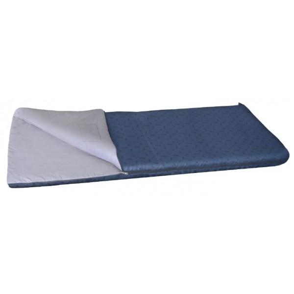 Спальный мешок Nova Tour Валдай 450спальный мешок-одеяло, кемпинговый, температура комфорта от 10°С, синтетический наполнитель, состегивание с аналогичным спальником, вес 1.8 кг<br><br>Вес кг: 1.90000000