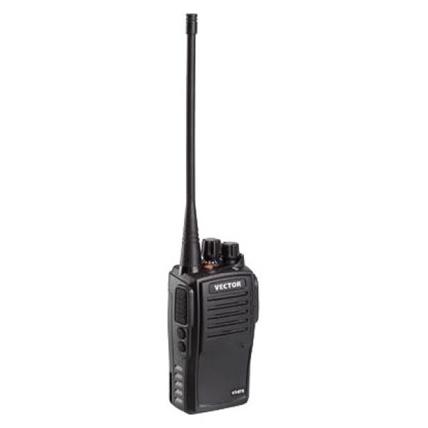 Радиостанция Vector VT-67Sрация UHF, мощность передатчика 5 Вт, питание Li-Ion-аккумулятор, вес 150 г, количество каналов 16, кодирование CTCSS, DCS, подключение гарнитуры<br><br>Вес кг: 0.20000000