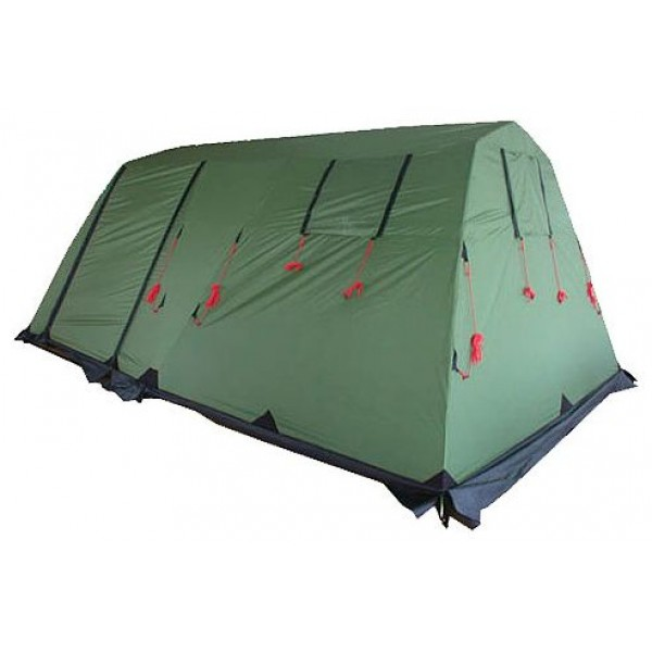Палатка KSL Vega 5 (зеленая)кемпинговая палатка, 5-местная, внутренний каркас, стальные дуги, 2 входа / одна комната, высокая водостойкость дна, вес: 21.5 кг<br><br>Вес кг: 21.60000000