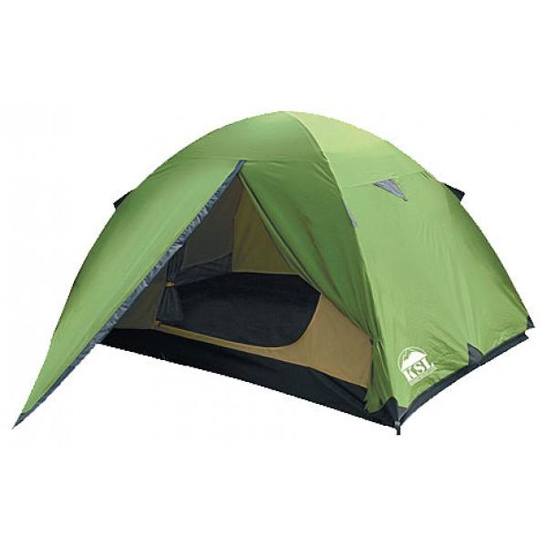 Палатка KSL Spark 3 (зеленая)трекинговая палатка, 3-местная, внутренний каркас, алюминиевые дуги, один вход / одна комната, высокая водостойкость дна, вес: 4.1 кг<br><br>Вес кг: 4.10000000