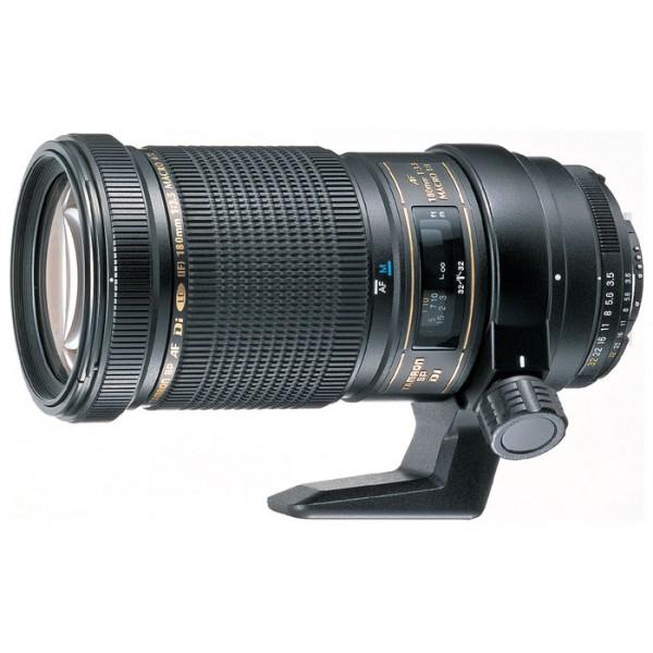 Объектив Tamron SP AF 180мм F/3.5 Di  LD (IF) Макро 1:1 для NikonГарантия 5 лет от Tamron. <br>макрообъектив с постоянным ФР, крепление Nikon F, без встроенного мотора, автоматическая фокусировка, размеры (DхL): 84.8x165.7 мм, вес: 920 г<br><br>Вес кг: 1.00000000