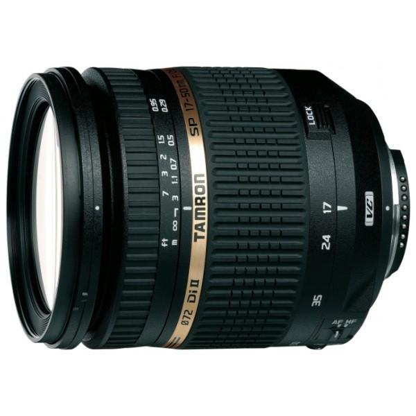 Объектив Tamron SP AF 17-50mm f/2.8 XR Di II LD VC Aspherical (IF) (B005E) Canon EF-SГарантия 5 лет от Tamron. <br>стандартный Zoom-объектив, крепление Canon EF-S, для неполнокадровых фотоаппаратов, встроенный стабилизатор изображения, автоматическая фокусировка, минимальное расстояние фокусировки 0.29 м, размеры (DхL): 79.6x94.5 мм<br>