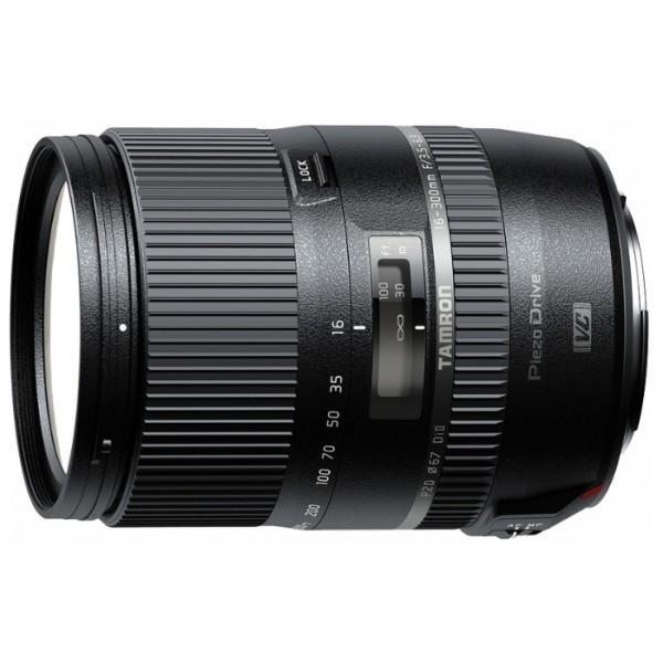 Объектив Tamron 16-300mm f/3.5-6.3 Di II VC PZD MACRO для CanonГарантия 5 лет от Tamron. стандартный Zoom-объектив, крепление Canon EF-S, для неполнокадровых фотоаппаратов, встроенный стабилизатор изображения, автоматическая фокусировка, минимальное расстояние фокусировки 0.39 м<br>
