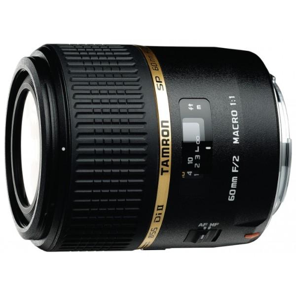 Объектив Tamron SP AF 60мм F/2 Di II LD (IF) Макро 1:1 для SonyГарантия 5 лет от Tamron. <br>макрообъектив с постоянным ФР, для неполнокадровых фотоаппаратов, автоматическая фокусировка, минимальное расстояние фокусировки 0.23 м, размеры (DхL): 73x80 мм, вес: 400 г<br><br>Вес кг: 0.50000000