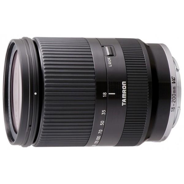 Объектив Tamron 18-200мм F3.5-6.3 Di III для Sony NEX (со стабилизатором) черныйГарантия 5 лет от Tamron. стандартный Zoom-объектив, крепление Sony E, для неполнокадровых фотоаппаратов, встроенный стабилизатор изображения, автоматическая фокусировка, минимальное расстояние фокусировки 0.5 м, размеры (DхL): 68x96.7 мм<br><br>Вес кг: 0.50000000