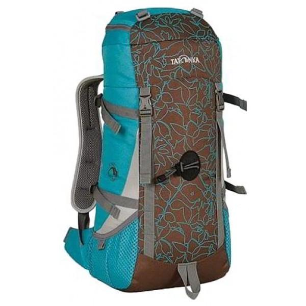 Рюкзак Tatonka Baloo lagoon/nutНастоящий треккинговый рюкзак для детей старше 10 лет. По оснащению Baloo ни в чем не уступает взрослым треккинговым рюкзакам. Система подвески и спинка с мягкой подкладкой специально разработаны с учетом детской анатомии.<br><br>Подвеска Padded Back и спинка с мягкой подкладкой.<br>Мягкие лямки.<br>Боковые стяжки.<br>Петля для кркепления палок.<br>Нагрудный и поясной ремни.<br>Боковые карманы.<br>Светоотражающие вставки.<br><br>Вес кг: 0.70000000
