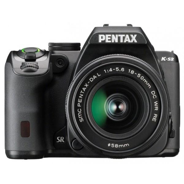 Цифровой фотоаппарат Pentax K-S2 Kit DA 18-50mm DC WRлюбительская зеркальная фотокамера, байонет Pentax KA/KAF/KAF2, объектив в комплекте, модель уточняйте у продавца, матрица 20.42 МП (APS-C), съемка видео Full HD, поворотный экран 3, Wi-Fi, влагозащищенный корпус, вес камеры без объектива 678 г<br><br>Вес кг: 0.70000000