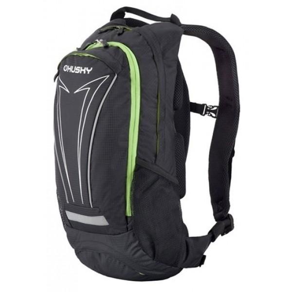 Рюкзак Husky Balot 12, черныйунисекс велорюкзак заплечный, анатомическая система, объем 12 л<br><br>Вес кг: 0.60000000