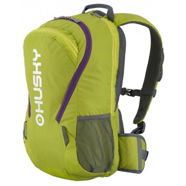 Рюкзак Husky Boost 20, зелёныйунисекс велорюкзак заплечный, анатомическая система, объем 20 л, вывод питьевой системы<br><br>Вес кг: 0.60000000