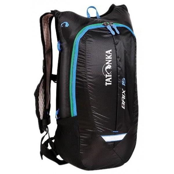 Рюкзак Tatonka Baix 15 blackЛегкий динамичный рюкзак для видов активных видов спорта: бега, велогонок. Легкий и удобный. Минимальный вес и небольшой объем делают рюкзак практически не ощущается на себе во время движения. Спинка покрыта мягкой вентиляционной сеткой. Рюкзак совместим спитьевой системой. На лицевой части удобный кармашек.<br><br>Вес кг: 0.50000000
