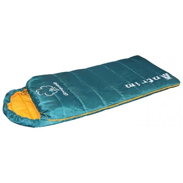 Спальник Greenell Антримспальный мешок-одеяло, кемпинговый, температура комфорта от 25°С, синтетический наполнитель, состегивание с аналогичным спальником, вес 1 кг<br><br>Вес кг: 1.10000000
