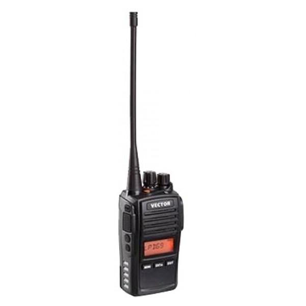 Радиостанция Vector VT-67рация UHF, мощность передатчика 5 Вт, питание Li-Ion-аккумулятор, вес 150 г, количество каналов 69, кодирование CTCSS, DCS, подключение гарнитуры<br><br>Вес кг: 0.20000000