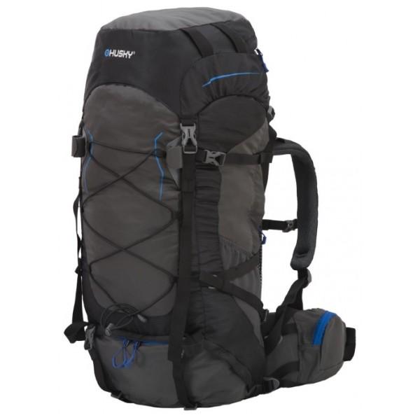 Рюкзак Husky Ribon 60, серыйунисекс трекинговый, анатомическая система, объем 60 л, доступ к основному отделению снизу, вывод питьевой системы<br><br>Вес кг: 1.90000000