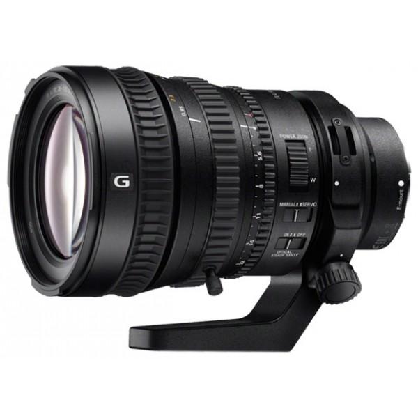 Объектив Sony FE PZ 28-135mm f/4.0 G OSS (SELP28135G)стандартный Zoom-объектив, адаптирован для видеосъемки, крепление Sony E, встроенный стабилизатор изображения, автоматическая фокусировка, минимальное расстояние фокусировки 0.4 м, размеры (DхL): 105x163 мм, вес: 1215 г<br><br>Вес кг: 1.40000000