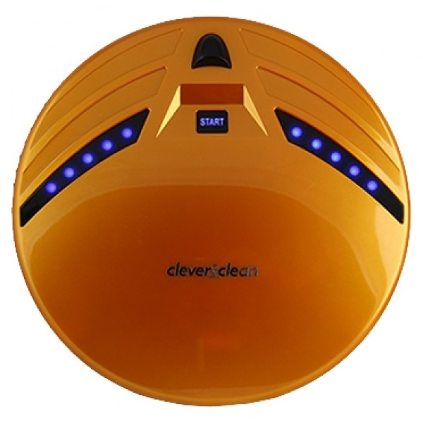 Робот-пылесос Clever&amp;Clean Z10A (оранжевый)пылесос-робот, сухая уборка, с циклонным фильтром, без мешка для сбора пыли, автономное питание<br>