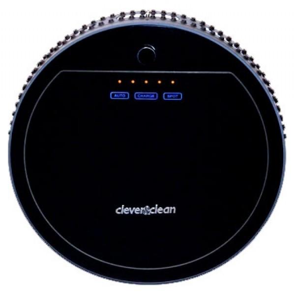 Робот-пылесос Clever&amp;Clean Z-SERIES Black Diamondпылесос-робот, сухая уборка, с циклонным фильтром, без мешка для сбора пыли, автономное питание<br>