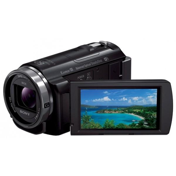 Видеокамера Sony HDR-CX530Eвидеокамера с 30x зумом, запись видео Full HD 1080p на карты памяти, матрица 2.37 МП (1/5.8), оптический стабилизатор изображения, вес: 325 г<br><br>Вес кг: 0.40000000