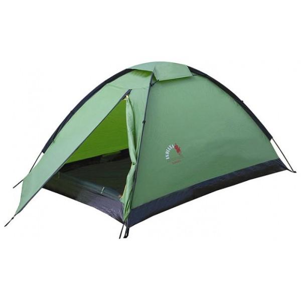 Палатка Indiana Ranger 3 трекинговаятрекинговая палатка, 3-местная, однослойная, внешний каркас, дуги из стеклопластика, один вход / одна комната, высокая водостойкость<br><br>Вес кг: 2.80000000