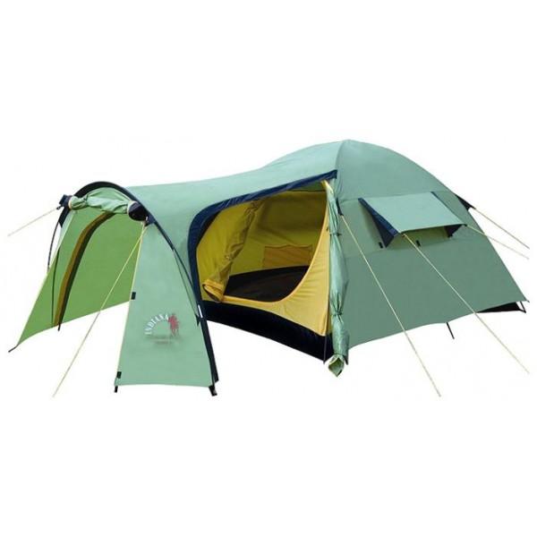 Палатка Indiana Tramp 2 трекинговаятрекинговая палатка, 2-местная, внешний каркас, дуги из стеклопластика, 2 входа / одна комната, высокая водостойкость, вес: 4.1 кг<br><br>Вес кг: 4.10000000