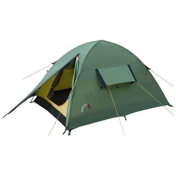 Палатка Indiana Rider 2 трекинговаятрекинговая палатка, 2-местная, внутренний каркас, дуги из стеклопластика, один вход / одна комната, высокая водостойкость, вес: 2.7 кг<br><br>Вес кг: 2.70000000
