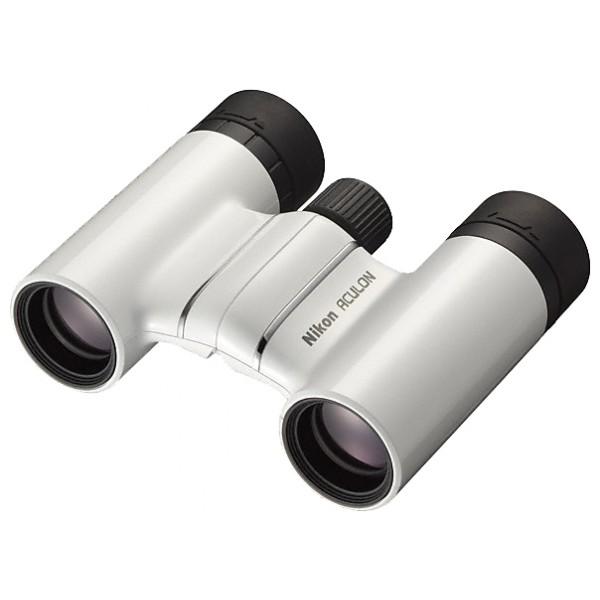 Бинокль Nikon Aculon T01 8x21бинокль, увеличение 8x, диаметр объектива 21 мм, выходной зрачок 2.6 мм, поле зрения (на 1000 м): 110 м, материал корпуса: пластик, вес 195 г, минимальная дистанция фокусировки 3 м<br><br>Вес кг: 0.30000000