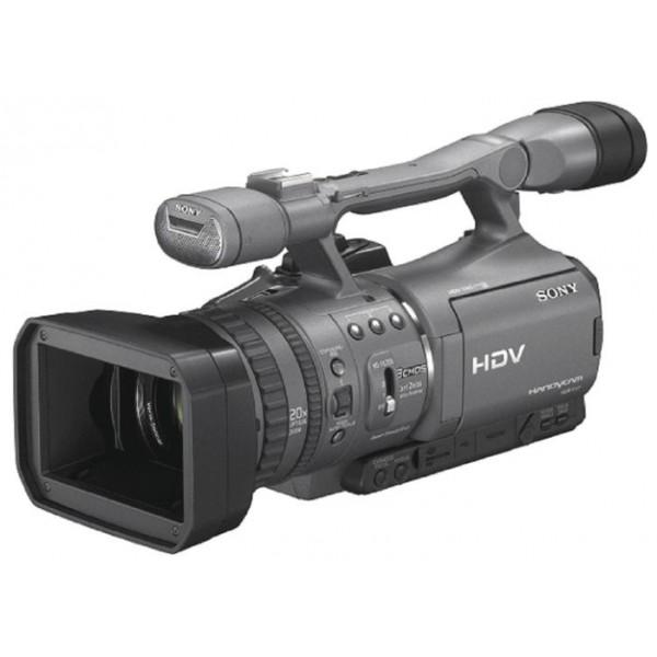 Видеокамера Sony HDR-FX7Eвидеокамера с 20x зумом, запись видео Full HD 1080p на кассеты MiniDV, матрица 1.12 МП (1/4), карты памяти MS, MS Duo, оптический стабилизатор изображения, вес: 1400 г<br><br>Вес кг: 1.40000000