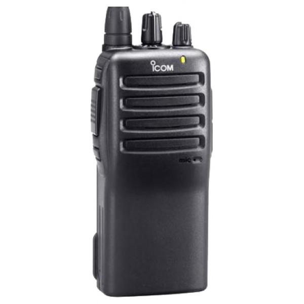 Радиостанция Icom IC-F26рация UHF, мощность передатчика 4 Вт, питание Li-Ion-аккумулятор, вес 290 г, количество каналов 16, кодирование CTCSS, DCS, DTMF, подключение гарнитуры<br><br>Вес кг: 0.40000000