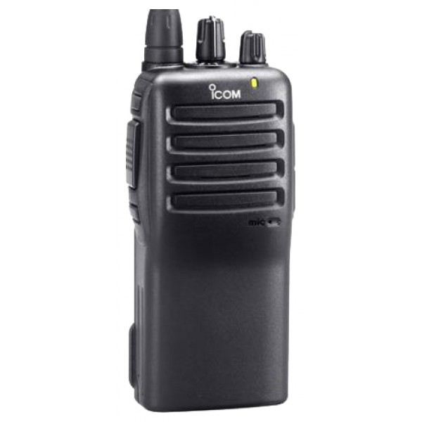 Радиостанция Icom IC-F16рация VHF, мощность передатчика 5 Вт, питание Li-Ion-аккумулятор, вес 290 г, количество каналов 16, кодирование CTCSS, DCS, DTMF, подключение гарнитуры<br><br>Вес кг: 0.40000000