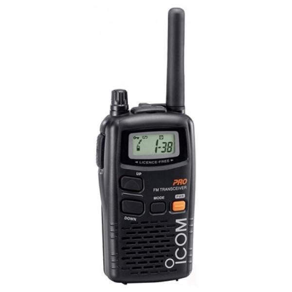 Радиостанция Icom IC-4088рация LPD, мощность передатчика 0.01 Вт, радиус действия 3 км, питание 3xAA, вес 200 г, количество каналов 69, кодирование CTCSS, подключение гарнитуры<br><br>Вес кг: 0.30000000