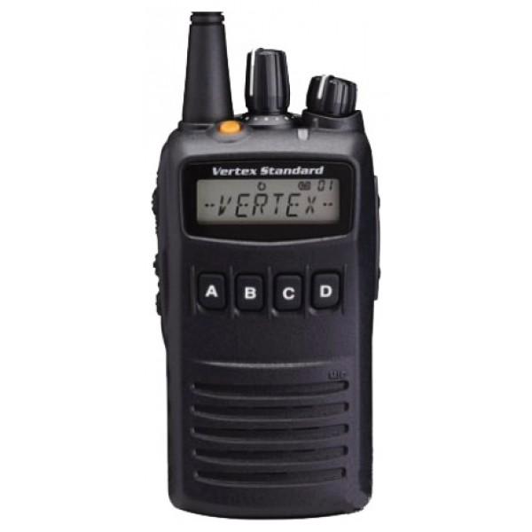 Радиостанция Vertex VX-454 (134-174 МГц)(LI-ION 1380 mAH)рация VHF, мощность передатчика 5 Вт, питание Li-Ion-аккумулятор, вес 296 г, количество каналов 512, кодирование CTCSS, DCS, DTMF, подключение гарнитуры<br><br>Вес кг: 0.40000000