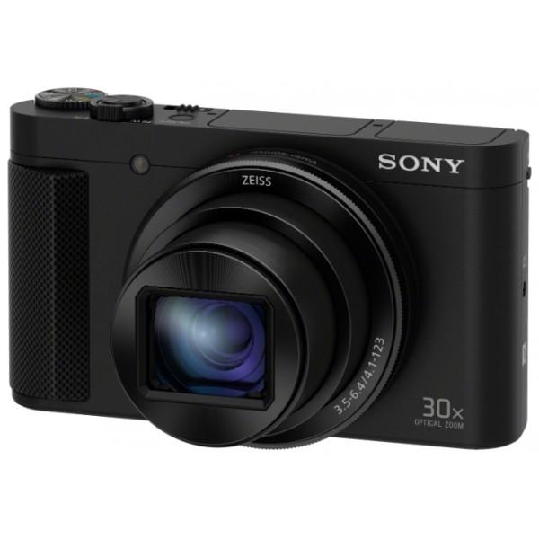 Фотоаппарат Sony Cyber-shot DSC-HX90 Компактныйкомпактная фотокамера, матрица 18.2 МП (1/2.3), съемка видео Full HD, оптический зум 30x, поворотный экран 3, Wi-Fi, вес камеры 245 г<br><br>Вес кг: 0.30000000