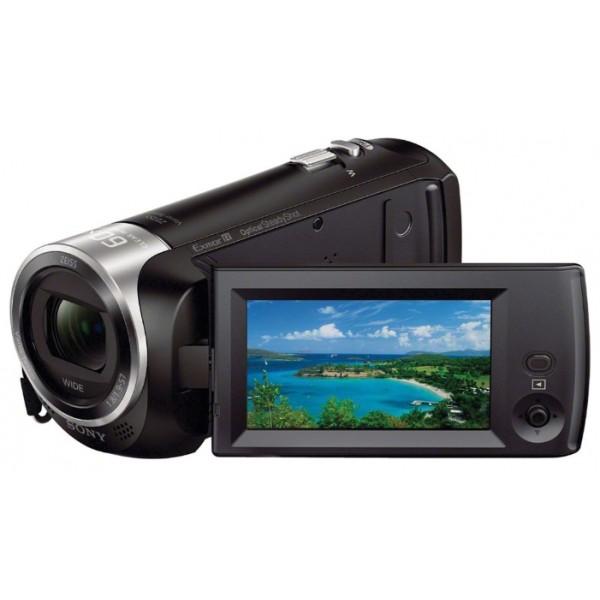 Видеокамера Sony HDR-CX405видеокамера с 30x зумом, запись видео Full HD 1080p на карты памяти, матрица 2.29 МП (1/5.8), карты памяти SDXC, microSD, microSDHC, оптический стабилизатор изображения, вес: 215 г<br><br>Вес кг: 0.30000000