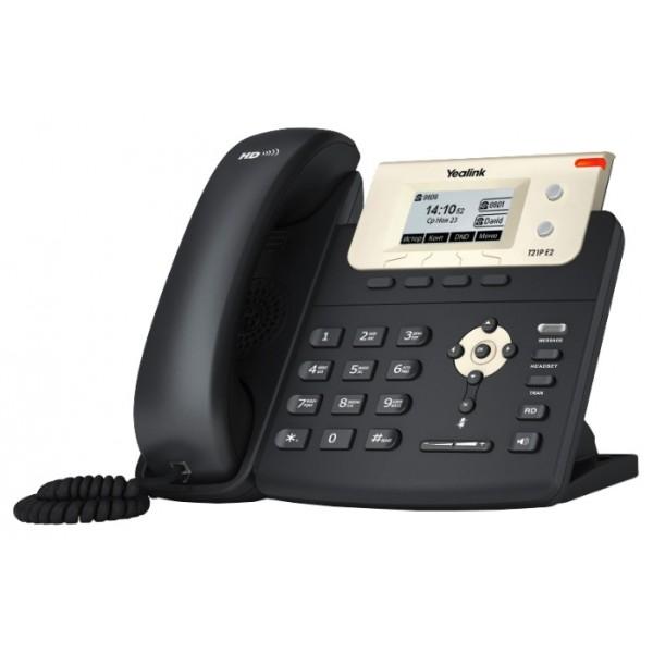 IP-телефон Yealink SIP-T21 E2Yealink SIP-T21 E2 - это обновленная версия SIP-телефона Yealink SIP-T21, которая прекрасно сочетает в себе стиль, высокое качество исполнения и передовые технические решения. Телефон является бюджетной моделью и отлично подойдет для малого и среднего бизнеса. В отличии от предшественника, в новой модели улучшено качество передачи голоса, добавлены подсветка экрана и подписи программируемых кнопок на экране, а кнопки световой индикации стали двухцветными, которые удобно использовать в режиме BLF.<br>