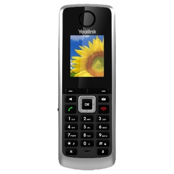 IP-телефон Yealink W52HW52H - дополнительная трубка для комплекта (базовая станция + трубка) SIP-телефона Yealink W52P.<br>