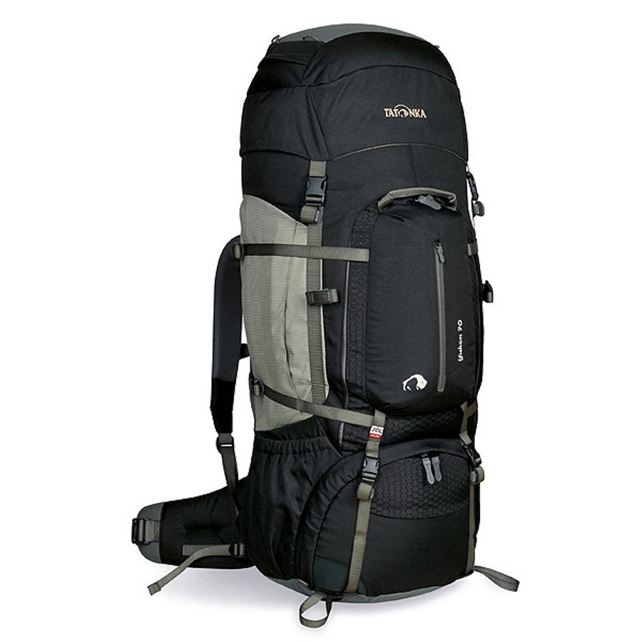Рюкзак Tatonka Yukon 70 blackВысокотехнологичный рюкзак для продолжительных походов. Регулируемая система подвески V2 оптимально распределяет нагрузку на бедра. Спинка с мягкой подкладкой, обтянутая терморегулирующей сеточкой Airmesh, обеспечивает комфорт и вентиляцию при длительных переходах.<br><br><br>Подвеска V2.<br><br>Регулируемая крышка-клаан.<br><br>Мягкие регулируемые лямки и набедренный пояс.<br><br>Дополнительный доступ в основное отделение.<br><br>Большой передний карман на молнии.<br><br>Боковые карманы.<br><br>Боковые стяжки.<br><br>Ручки для переноски.<br><br>Крепление для ледоруба.<br><br>Дождевой чехол.<br><br>Отделение для питьевой системы.<br><br>Отделение для аптечки.<br><br>Держатель для ключей.<br><br>Вес кг: 3.20000000