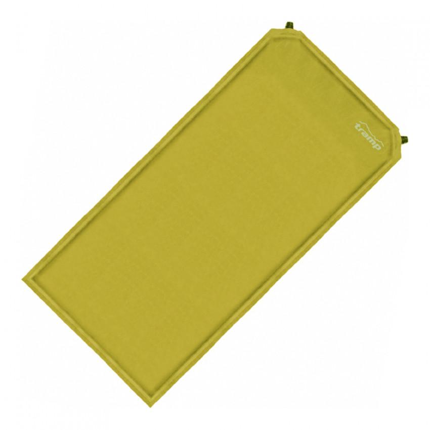Коврик Tramp TRI-011 самонадувающийсяУдобный самонадувающийся коврик толщиной 5 сантиметров и шириной 130 см. В комплекте чехол и компрессионные ремни. Сверху коврик выполнен из тканой замши (приятный на ощупь+не сползает спальник), а снизу на коврик нанесены точки Slides Less, препятствующие скольжению по дну палатки даже при ночевках на наклонных поверхностях. Коврик снабжен двумя клапанами для более быстрого надувания.<br><br>Вес кг: 5.00000000
