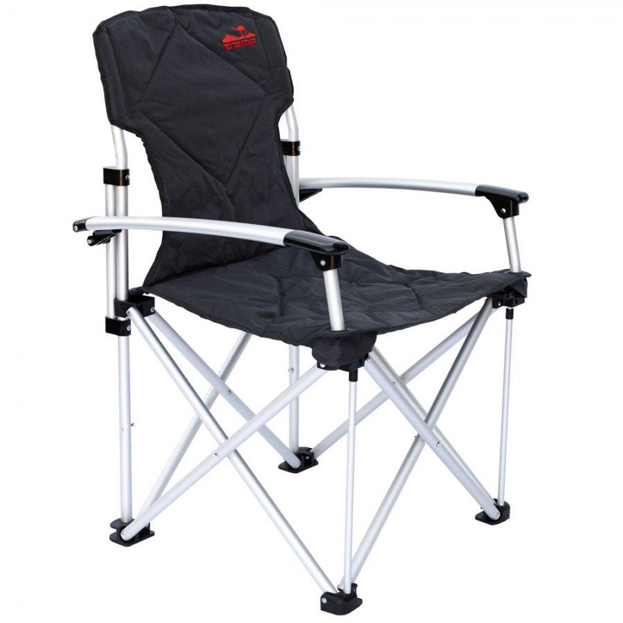 Кресло Tramp TRF-004 раскладное с жесткими подлокотникамиРаскладное кресло Tramp TRF-004 сделано для максимального комфорта на отдыхе за городом. В данной моделе подлокотники сделаны жесткими. Также есть кармашек для мелочи. Рама выполнена из алюминиевых трубок диаметром 22 мм., что обеспечивает стулу хорошую надежность, устойчивость и маленький вес.<br><br>Вес кг: 3.80000000