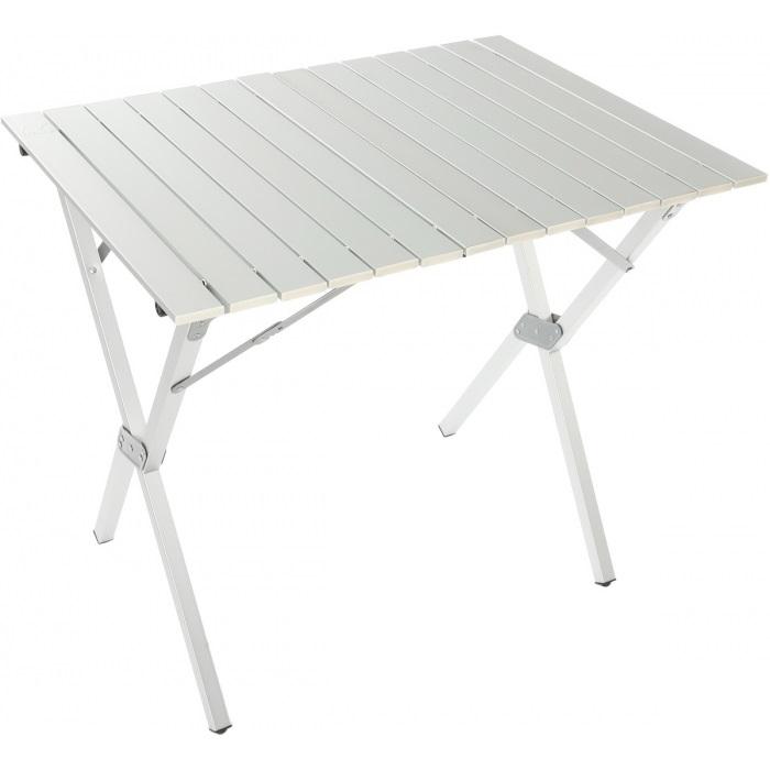 Стол Tramp TRF-008Небольшой складной алюминиевый стол Tramp TRF-008 для кемпинга. В свернутом виде стол занимает мало места. Каркас компактно складывается, а столешница сворачивается в рулон. В комплект входит чехол для удобной транспортировки.<br><br>Вес кг: 5.50000000