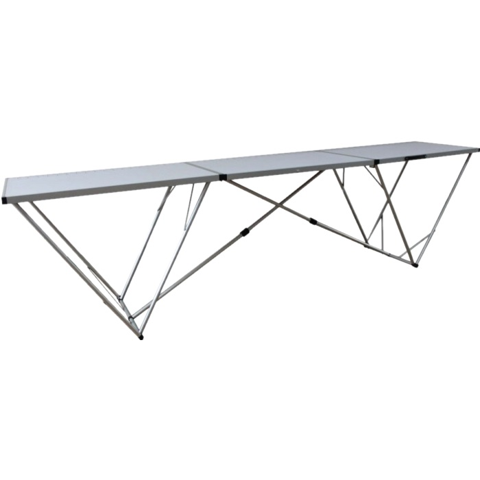 Стол Tramp TRF-007 складнойСтол складной Tramp TRF-007 имеет белую поверхность столешницы. Чехол тканевый очень удобен в применении, Он защищает от царапин при перевозке и хранении. Стол имеет повышенную устойчивость. Легко складывается, переносится и занимает мало места при хранении. Идеален для загородного отдыха или же для ремонта.<br><br>Вес кг: 10.30000000