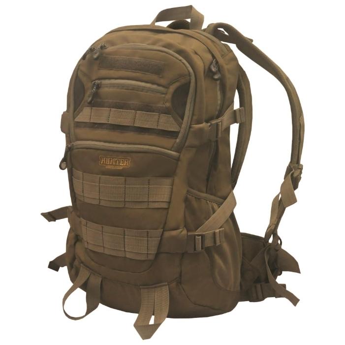 Рюкзак Hunter Nova Tour Тактика 32Тактический рюкзак для пешей охоты. Два больших отделения для снаряжения, множество карманов для всяких мелочей, стропы для внешней навески.<br><br>Вес кг: 1.00000000