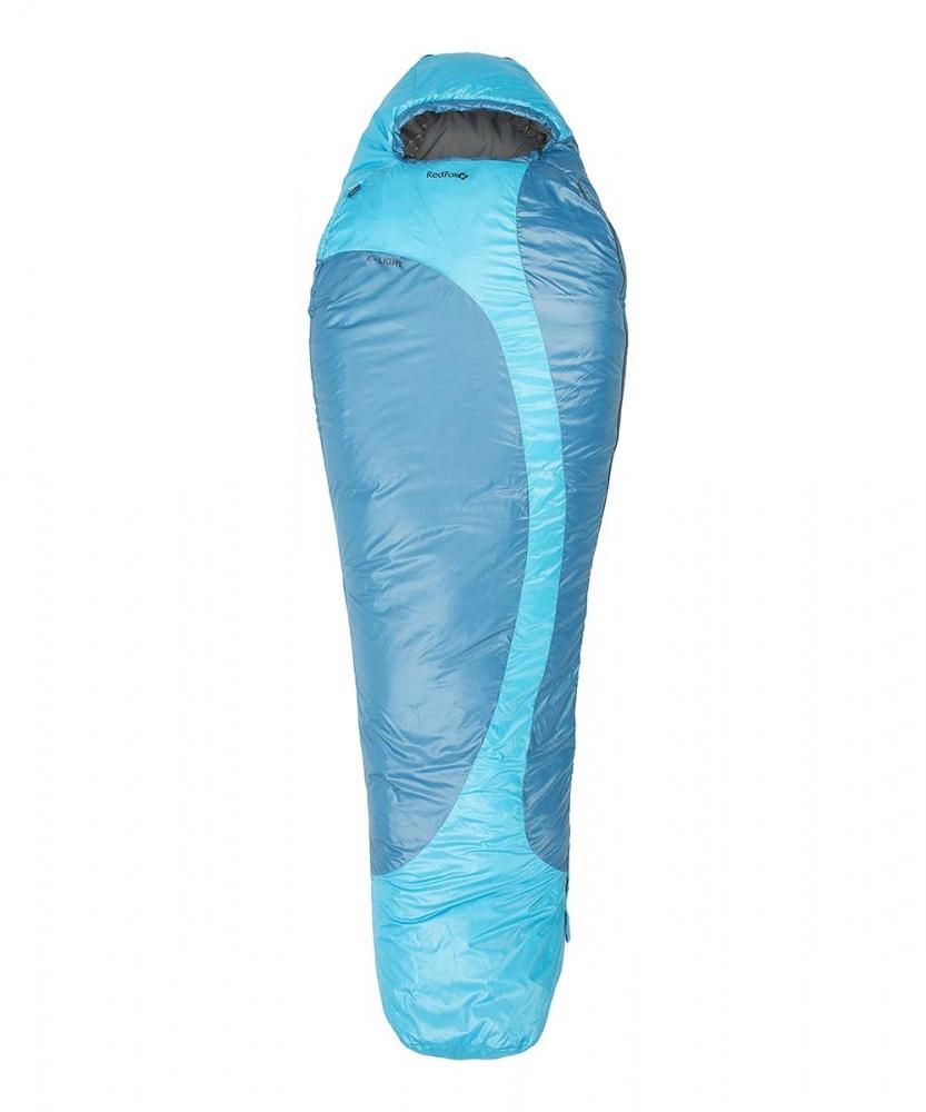 Спальный мешок RedFox X-Light XLСуперлегкий спальный мешок, утепленный синтетическим утеплителем PrimaLoft® Infinity. Анатомическая форма спальника. Анатомический капюшон регулируется по объему шнуром с фиксаторами.Защитный внутренний клапан, расположенный по всей длине молнии, обеспечивает дополнительную защиту от холода. Правая и левая молнии позволяют состегивать между собой два спальника. Разъемные двухзамковые молнии для регуляции воздухообмена и удобства состегивания. Специальная защитная лента, предохраняющая ткань от попадания в молнию. Низ молнии защищен дополнительным внутренним маленьким поперечным клапаном. Фиксация замка молнии клапаном с застежкой Velcro. Светонакопительный элемент на замке молнии. Специальные петли для хранения и подвешивания спальника, позволяющие легко его просушить. Спальник упаковывается в компрессионный мешок.<br><br>Вес кг: 0.89000000