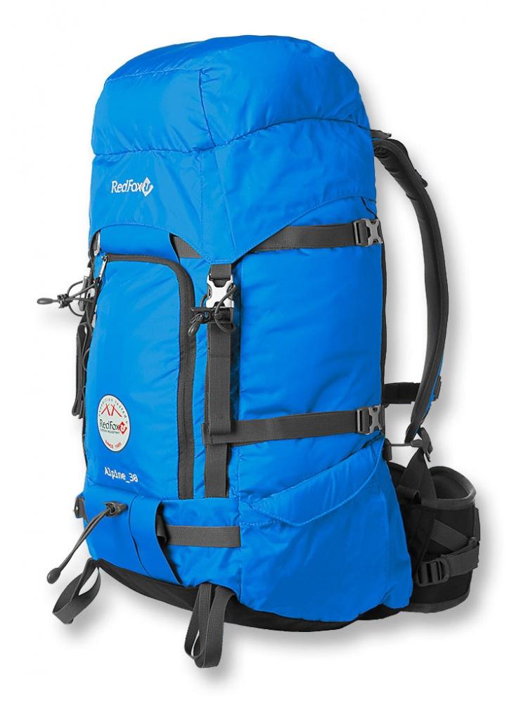 Рюкзак RedFox Alpine 30 blue штурмовойРюкзак Alpine 30 - штурмовой рюкзак уменьшенного объема для любителей и профессионалов с самыми высокими требованиями к снаряжению. Изготовлен из материала повышенной прочности Robic®<br><br><br>подвесная система Active<br><br>алюминиевые пряжки<br><br>большое количество внешних точек крепления снаряжения<br><br>узлы крепления ледового инструмента<br><br>защитный клапан для «клюва» ледоруба<br><br>грузовые петли для подъема рюкзака<br><br>крепления для лыж и трекинговых палок<br><br>фронтальный карман на молнии<br><br>грудной фиксатор лямок и боковые стяжки<br><br>два боковых кармана<br><br>несъемный клапан<br><br>съемный поясной ремень анатомической формы с двумя степенями регулировки<br><br>Вес кг: 1.50000000