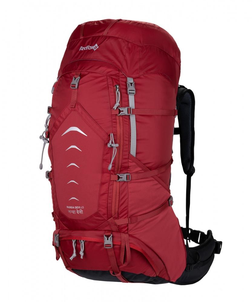 Рюкзак RedFox Nanda Devi 45Рюкзак Nanda Devi 45 – женская версия классического рюкзака среднего объема для горных походов. Конструкция рюкзака учитывает анатомические особенности женской фигуры.<br><br><br>подвесная система Active<br><br>съемный поясной ремень анатомической формы<br><br>фурнитура из высокопрочного пластика<br><br>два независимых отделения основного объема<br><br>крепления для ледоруба и трекинговых палок<br><br>грудной фиксатор лямок и боковые стяжки<br><br>стяжки для крепления дополнительного груза к дну рюкзака<br><br>два эластичных боковых кармана в нижней части рюкзака<br><br>два кармана на поясном ремне<br><br>карман с эластичными вставками на фронтальной части рюкзака<br><br>съемный клапан с карманами<br><br>возможность размещения питьевой системы<br><br>Вес кг: 2.00000000