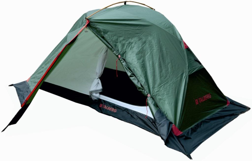 Палатка Talberg Borneo Pro 2Очень легкая двухслойная двухместная палатка с дополнительной верхней выносной дугой, увеличивающей объем тамбуров. Профессиональная линия Talberg. Палатки Talberg Профессиональной линии были специально разработаны для зимних походов и длительных пеших экспедиций. Основной акцент в данной серии делается на качестве материалов, высокой прочности и безупречном исполнении.<br><br>Оптимальная комбинация материалов по соотношению вес-прочность-надежность.<br>Использование высокопрочного полиэстера RipStop позволяет сделать тент палатки легким, непроницаемым для ветра и не впитывающим влагу.<br>Высококачественные дуги из алюминиево-магниевого сплава марки 7001-T6 практически не имеют остаточных деформаций и в состоянии выдержать любую непогоду.<br>Два входа обеспечивают превосходную вентиляцию и комфортный сон в теплое время года.<br>Палатка оборудована высококачественной мелкой противомоскитной сеткой, способной защитить даже от самой мелкой мошки.<br>Палатка снабжена ветрозащитной (снегозащитной) юбкой.<br>Все швы палатки проклеены специальной термоусадочной лентой, которая надежно защищает палатку от протеканий.<br>Внутри палатки предусмотрено большое количество карманов для мелочей и полка под потолком для фонарика или каких-либо вещей.<br>Ремнабор в комплекте.<br><br>Вес кг: 2.90000000