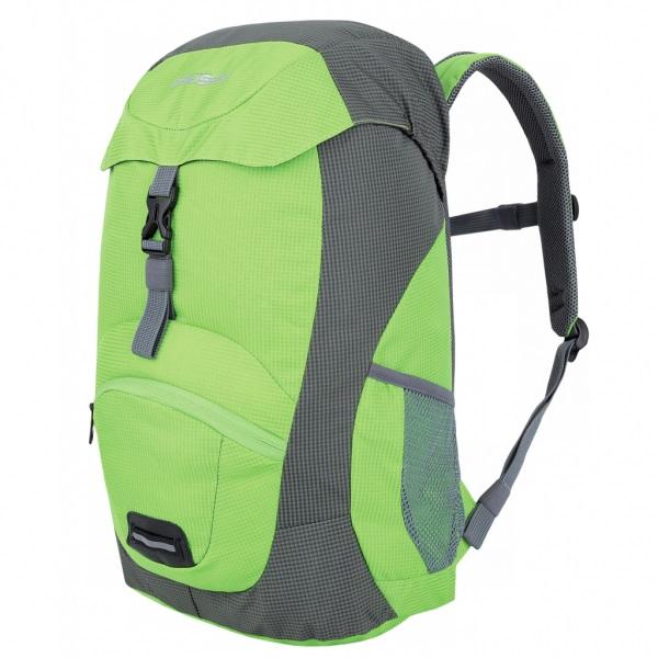 Рюкзак Husky Junny 15, зелёныйОсобенности: эргономичная система задней стенки, утолщённые и дышащие эргономичные плечевые лямки, 1 основное отделение, передний карман, боковые карманы на молнии, карман на крышке, нагрудный ремень, дождевик, светоотражающие элементы<br><br>Вес кг: 0.40000000