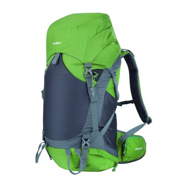 Рюкзак Husky Menic 50, зелёныйПрактичный рюкзак позволит вам взять с собой все необходимое. Очень удобен в использовании благодаря системе вентиляции спины.<br><br>Особенности: новая эргономичная регулируемая система задней стенки с дюралевой рамой, регулирующаяся, с карманом, 1 основное отделение с дополнительным доступом снизу, крышка рюкзака с карманами, утолщённые и дышащие эргономичные плечевые лямки, поясной и нагрудный ремни, боковые и нижние компрессионные ремни, дополнительные петли для палок, ледоруба, и другой экипировки, защитная гермонакидка, водоотталкивающие молнии, отражающие элементы, боковые эластичные карманы, держатель для гидратора<br><br>Вес кг: 1.80000000